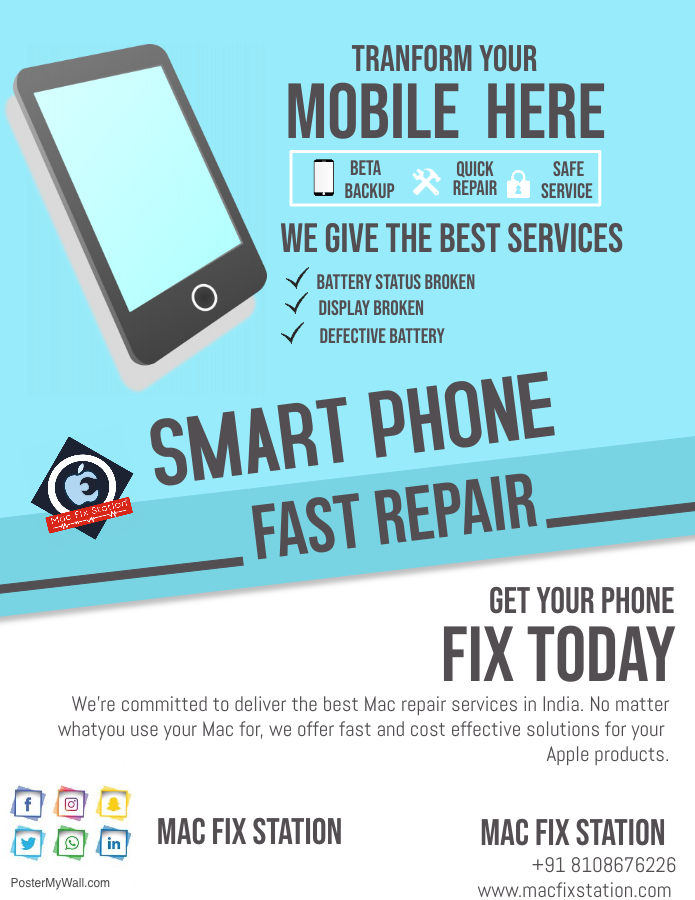 Iphone Screen Repair in Pune
