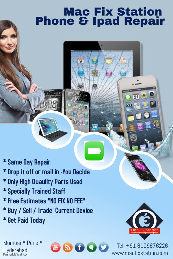iphone screen repair in mumbai